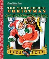 Clarke Moore Clement. Night Before Christmas (Little Golden Book) HB