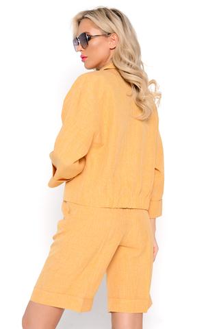 <p><span>Тренд 2021-шорты бермуды! Мы создали для Вас невероятно стильные бермуды. Благодаря свободному крою, завышенной талии и универсальной длине, модель хорошо сидит на любом типе фигуры.(Сзади по поясу - резинка). Бермуды прекрасная альтернатива брюкам- они подойдут как для встреч с друзьми, так и для офиса. (Длина: 44-50р -53см).</span></p>