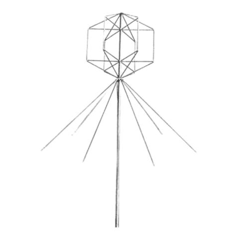 Базовая Low Band антенна Radial GPW 1LB (L)/(H)