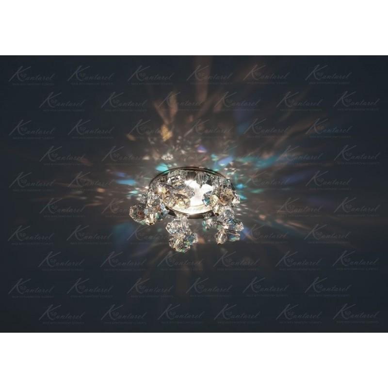 Встраиваемый светильник Kantarel Twisted Bell CD 017.3.1AB crystal AB