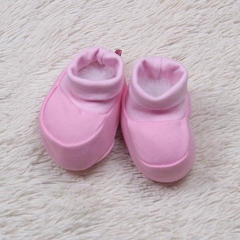 Пинетки хлопок (розовые)