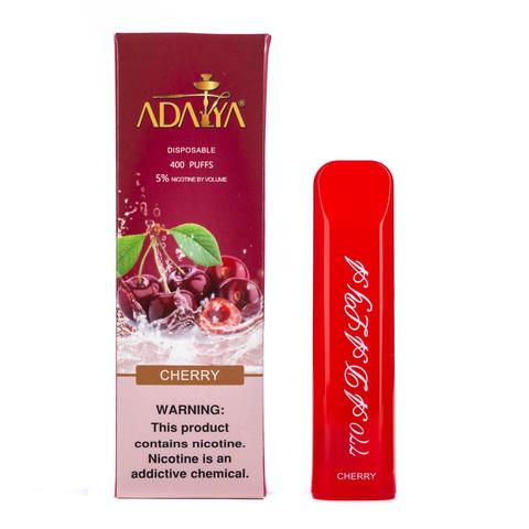 Одноразовая электронная сигарета Adalya Cherry 5% 400 затяжек