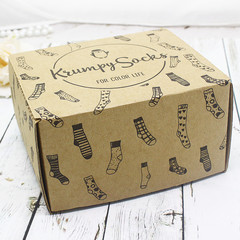 Упаковка - Коробка подарочная от 1 до 4 пар.