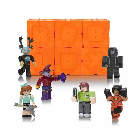 Роблокс Тайный набор из 6 штук, серия 6 Оранжевые