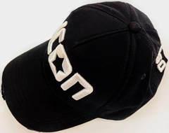 Модные кепки для девушек Dsquared2 Icon 03-6794-9931-Black.