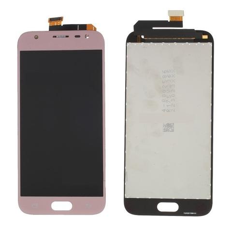 LCD SAMSUNG J3 (2017) J330 + Touch Pink Orig MOQ:5
