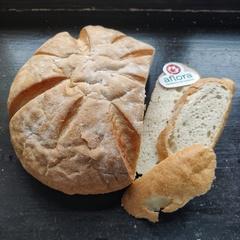 Хлеб «Деревенский» белый пшеничный (бездрожжевой) / 500 гр