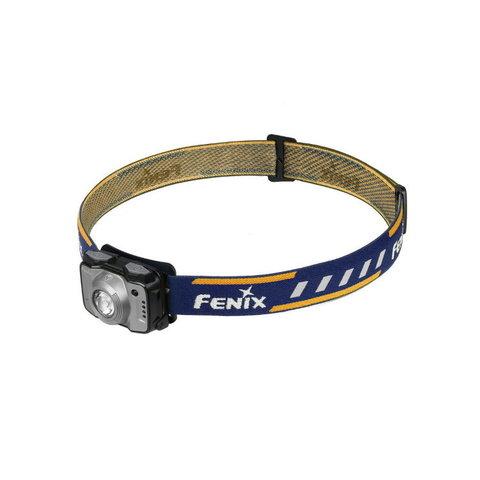 Фонарь светодиодный налобный Fenix HL12R серый, 400 лм, встроенный аккумулятор