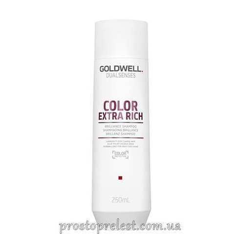 Goldwell Dualsenses Color Extra Rich Brilliance Shampoo - Шампунь для фарбованого жорсткого волосся