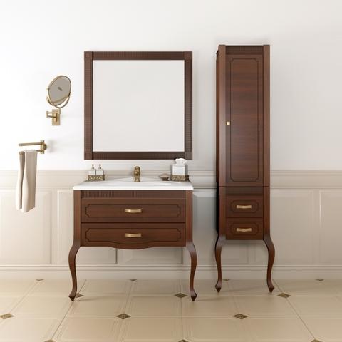 Комплект мебели Опадирис Фреско 80 см (тумба с раковиной + зеркало + пенал )