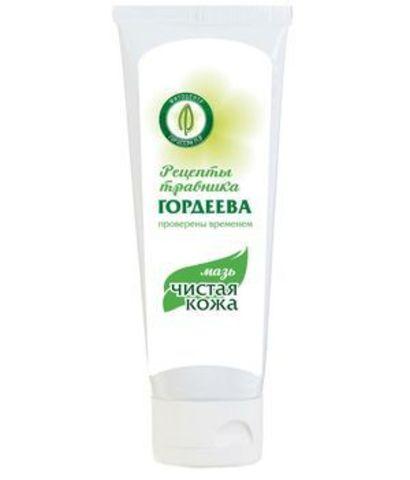 Мазь «Чистая кожа» против псориаза (для любой кожи),  50г, пластик. (ИП Гордеев М.В.)