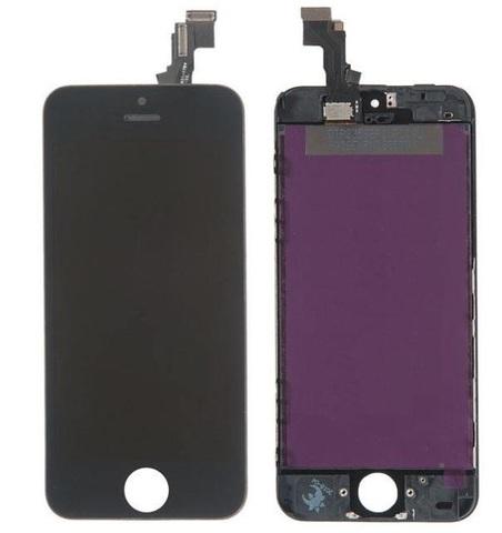 LCD Apple iPhone 5C Black (LT / AAA)