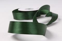 Лента атласная 4см*25ярд темно-зеленый