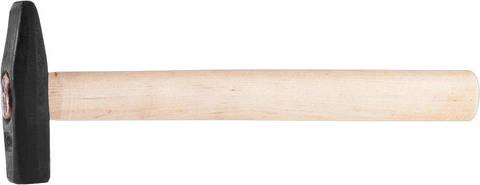 СИБИН 400 г молоток слесарный с деревянной рукояткой