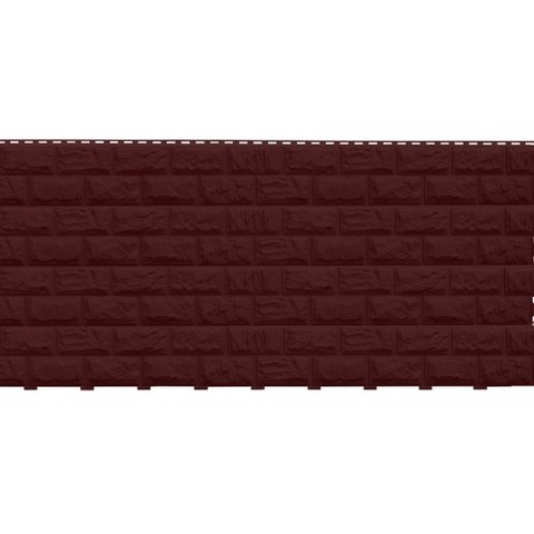 Фасадные панели (Цокольный Сайдинг) Доломит Альпийский 2-х метровый (Дикий Камень) Корица