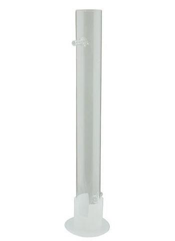 Стеклянная угольная колонна 500 мм D 50 мм