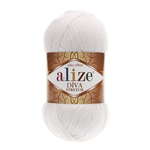 Пряжа Alize Diva Stretch цвет 055