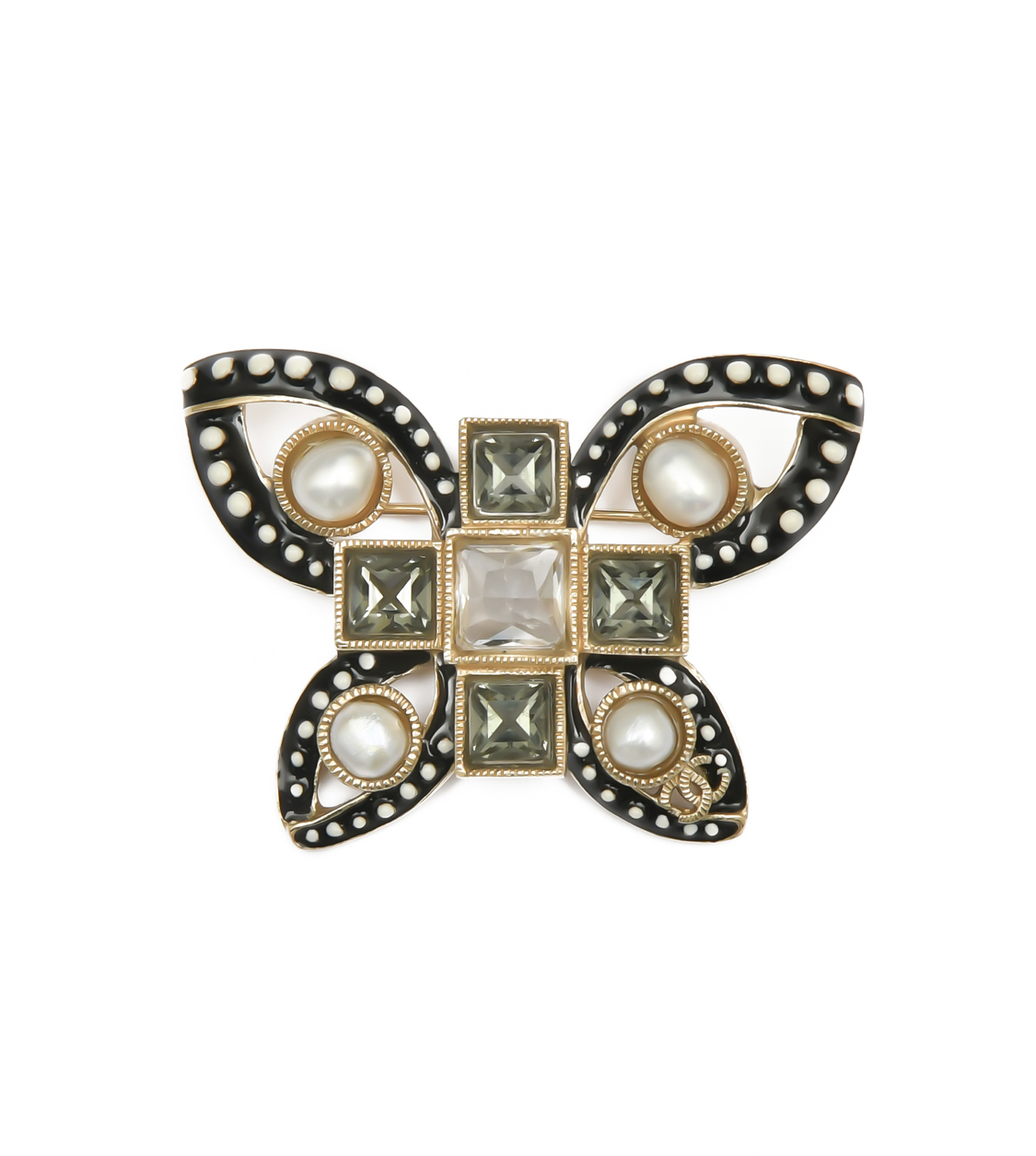 2015 Chanel butterfly animalistic brooch, collection spring
