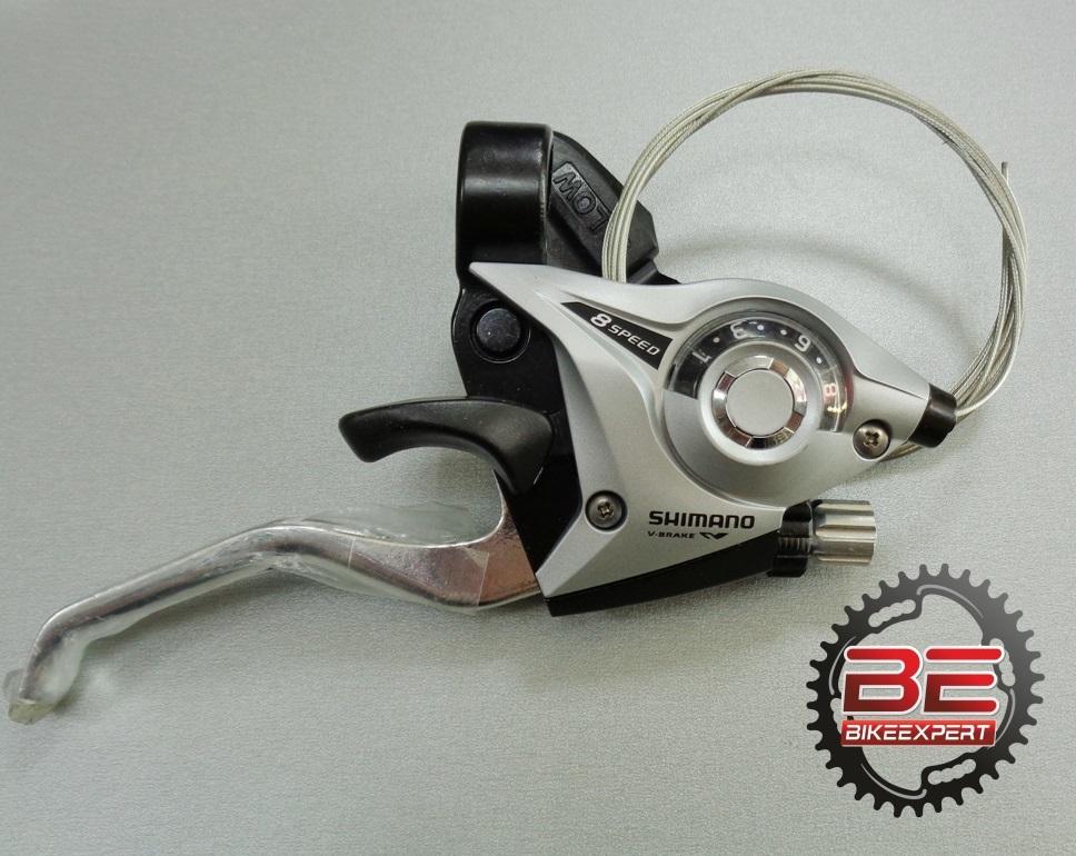 Комборучка Shimano EF-51 8 скоростей серая