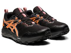 Кроссовки внедорожники  Asics Gel Sonoma 6 G-TX Black-Orange женские