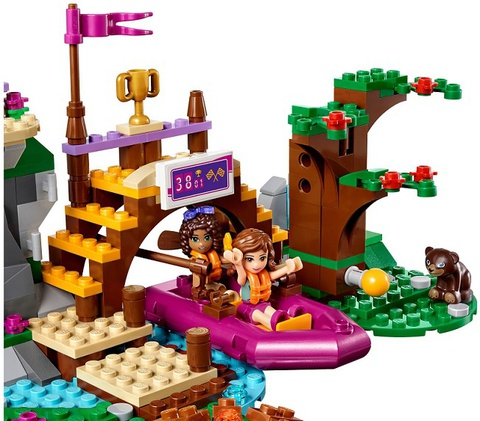 LEGO Friends: LEGO Friends: Спортивный лагерь: Сплав по реке 41121 — Adventure Camp Rafting — Лего Френдз Друзья Подружкилагерь: Сплав по реке 41121