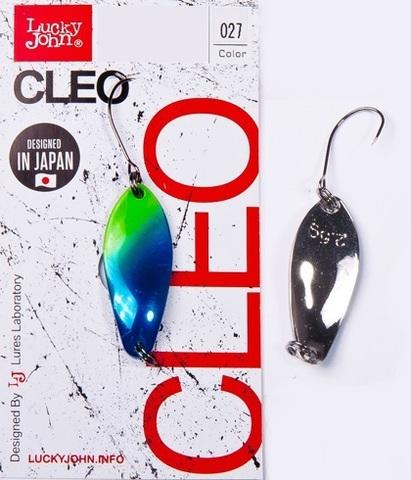 Блесна LUCKY JOHN Cleo 3,5 г, цвет 027, арт. LJCL35-027
