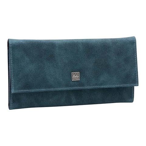 Маникюрный набор Erbe, 5 предметов, цвет синий, кожаный футляр