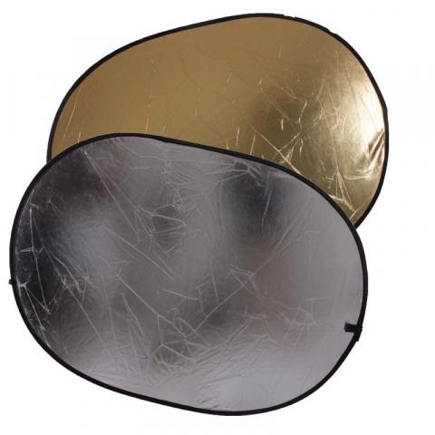 Fotokvant R2-6090GS светоотражатель золото-серебро размером 60х90 см