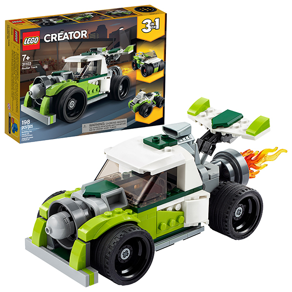 LEGO Creator 31103 Конструктор ЛЕГО Криэйтор Грузовик-ракета