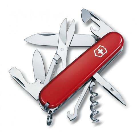 Нож складной Офицерский Victorinox 1.3703 Climber, красный