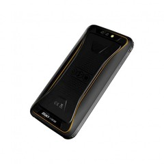 Смартфон Blackview BV5500 Plus черный/желтый