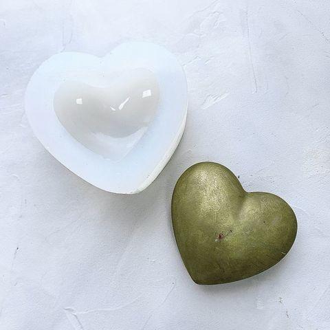 Силиконовая форма  Сердце объемное №296 5 см