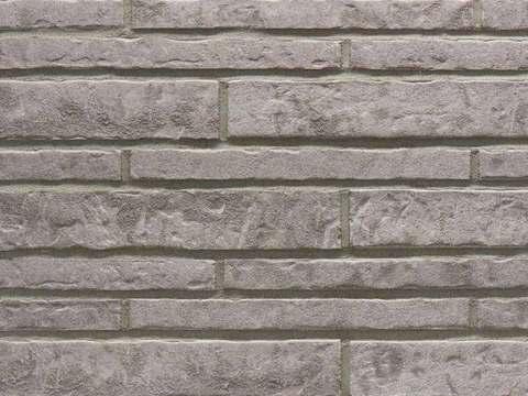 Stroeher - 237 austerrauch, Zeitlos, состаренная поверхность, ручная формовка, 400x35x14 - Клинкерная плитка для фасада и внутренней отделки