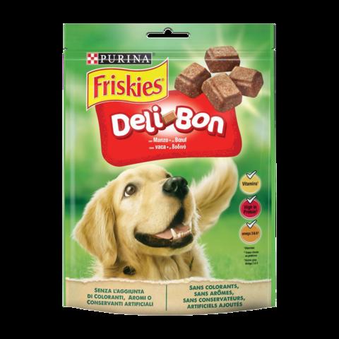 Friskies Deli-Bon Лакомство для взрослых собак с говядиной