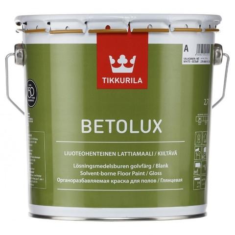 Tikkurila Betolux / Тиккурила Бетолюкс краска для бетонных и деревянных полов