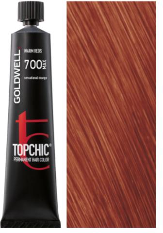 Goldwell Topchic 7OO MAX чувственный рыжий TC 60ml
