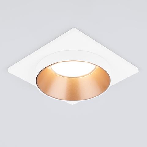 Встраиваемый точечный светильник 116 MR16 золото/белый