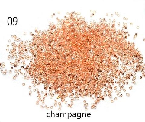 Хрустальная крошка/пиксики/№9 цвет шампань купить за 400руб