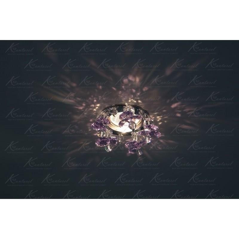 Встраиваемый светильник Kantarel Twisted Bell CD 017.3.5 violet