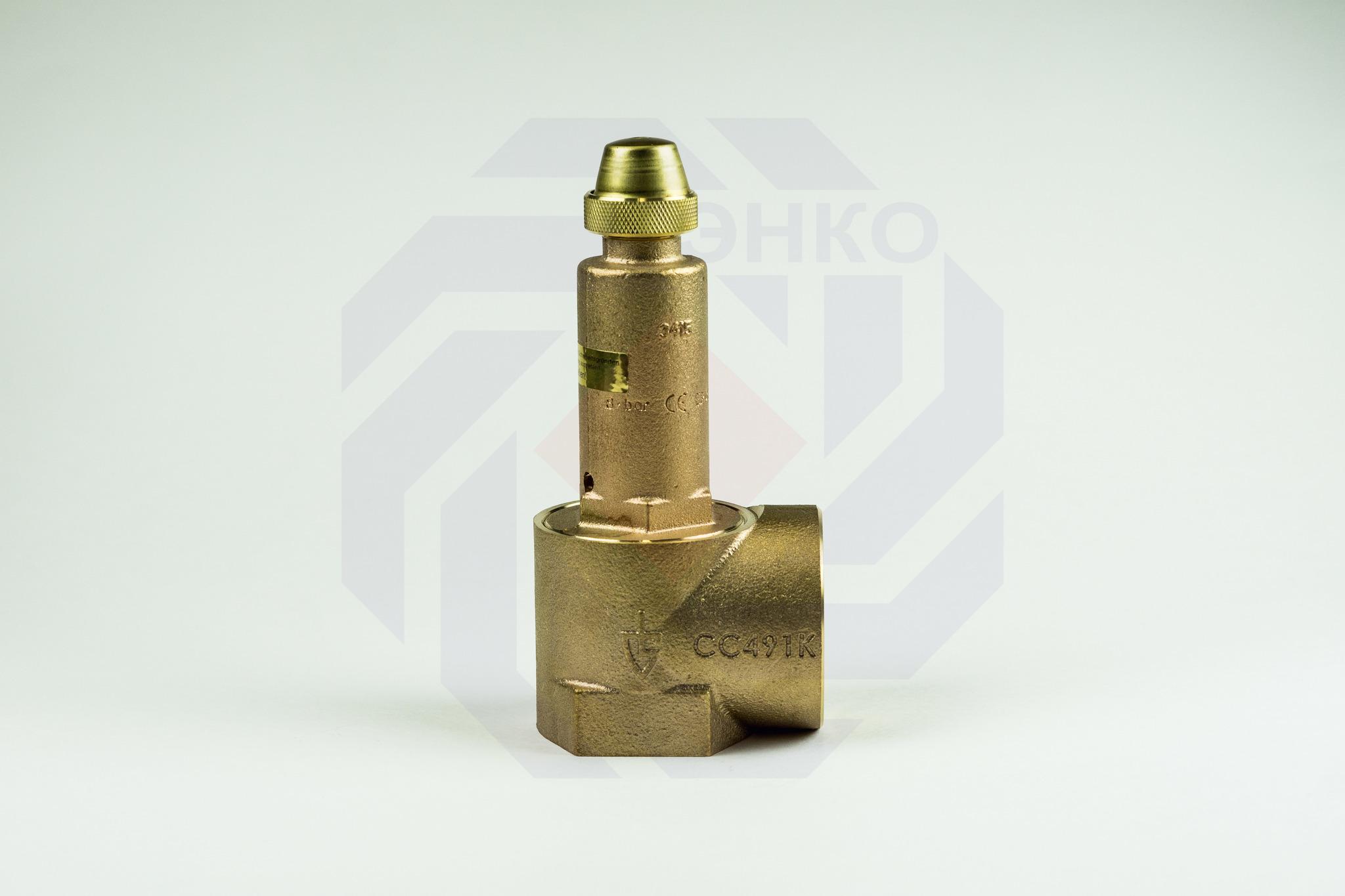 Клапан предохранительный GOETZE 651mWIK 8 бар 2
