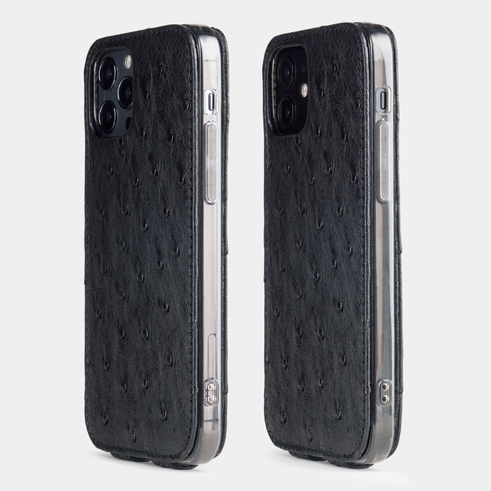 Case for iPhone 12 & 12  pro - ostrich black