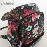 Сумка Саломея 502 вышивка на черном (рюкзак)