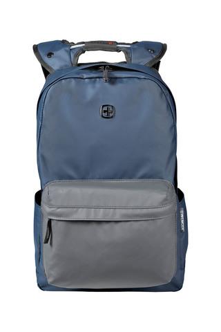 Рюкзак WENGER Photon с водоотталкивающим покрытием, цвет синий/серый, отделение для ноутбука 14