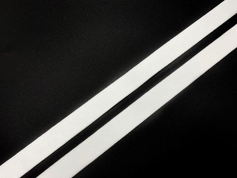 Резинка бретелечная белая 15 мм  (цв. 001)