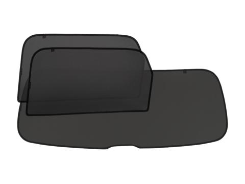 Комплект на заднюю полусферу из 3 экранов (купе, хэтчбек 3-х дверный, внедорожник 3-х дверный)