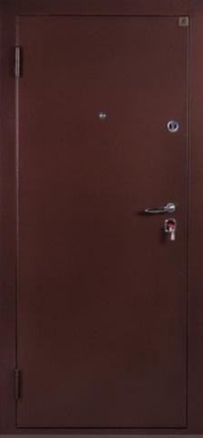 Дверь входная Т-4 (RNB стальная, медь антик, 2 замка, фабрика Ретвизан