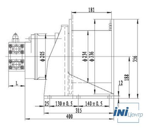 Стандартная лебедка IYJ2.5A-15-40-11-ZP