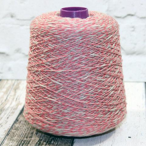 Смесовка с кашемиром (45%) Todd & Duncan GLEN LYON 400 серо-розовый