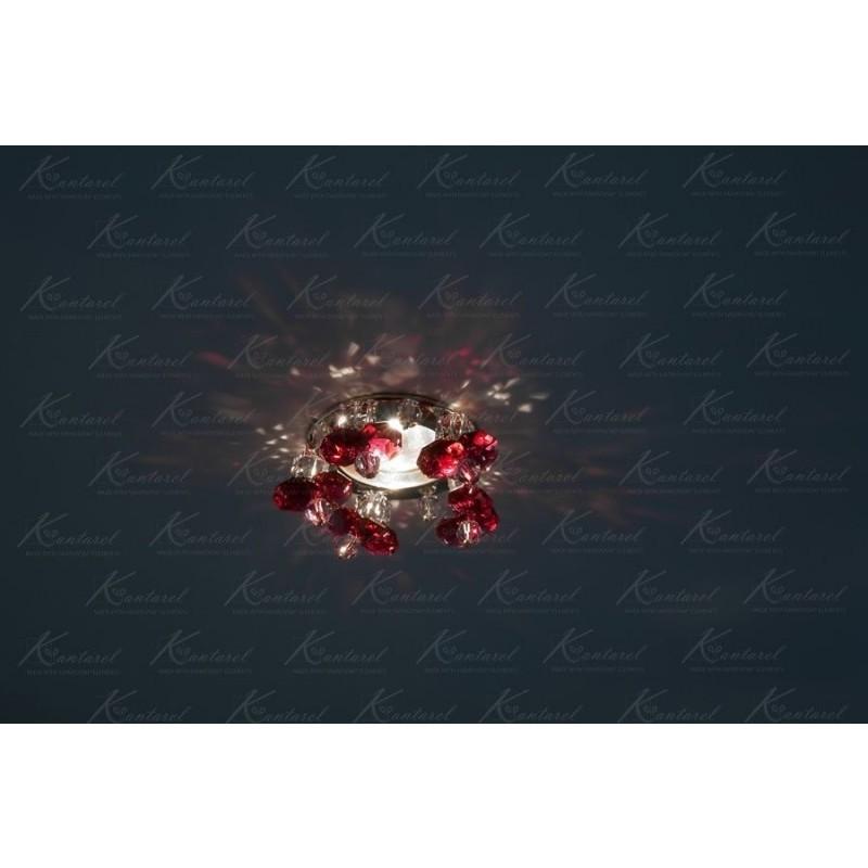 Встраиваемый светильник Kantarel Twisted Bell CD 017.3.6 bordo