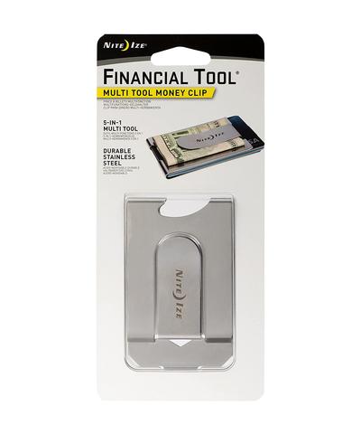 Карманный инструмент FinancialTool Money Clip, стальной